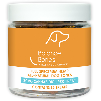 Balance Bones - CBD Oil Dog Treats